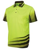 HI VIS SHORT SLEEVE POLO'S