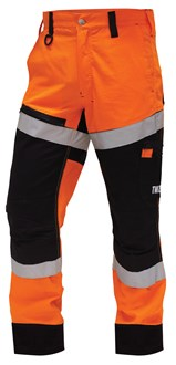 CRAFTSMAN SAFETY PANTS - Reflective Tape, Rip Stop